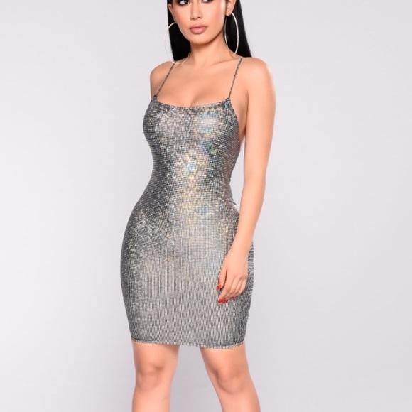 1a082ad75c Fashion Nova Dresses   Skirts - Fashion Nova Celestial Coordinate Bodycon  dress